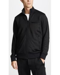 Vince - Heat Seal Track Jacket - Lyst