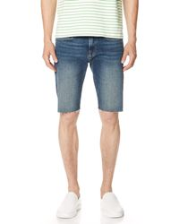 FRAME - L'homme Cut Off Shorts - Lyst