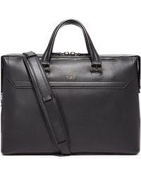 Tumi - Ashton Leather Gates Slim Briefcase - Lyst