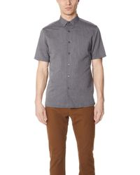 Theory - Murray Short Sleeve Essential Top - Lyst