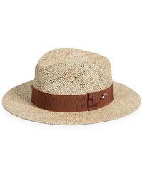 Larose Straw Hat - Brown