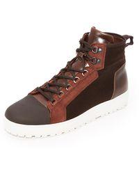 Want Les Essentiels De La Vie - Hopkins Mid Hiking Sneakers - Lyst