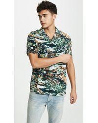 J.Crew - Camp Collar Volcano Hawaiian Shirt - Lyst