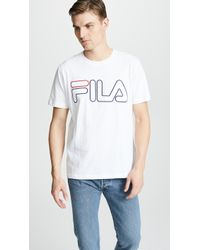 Fila - Borough Tee - Lyst