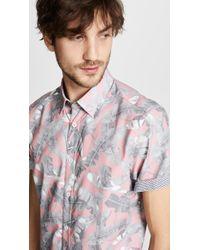 Ted Baker - Samsey's Short Sleeve Shirt - Lyst