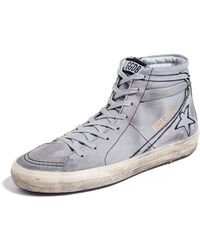 Golden Goose Deluxe Brand - Ripped Off Slide Sneakers - Lyst