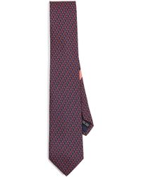 Ferragamo - Shadow Giraffe Tie - Lyst