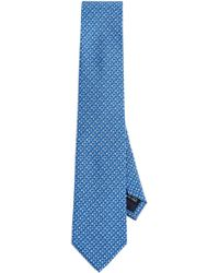 Ferragamo - Tree Print Tie - Lyst