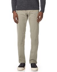 AG Jeans - Lux Khaki Chinos - Lyst