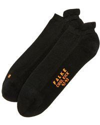Falke - Cool Kick Cotton Blend Trainer Socks - Lyst