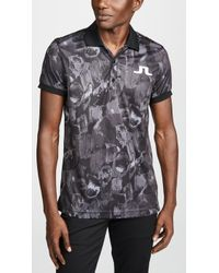 J.Lindeberg - M Big Bridge Polo Shirt - Lyst