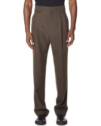 Lemaire - Pleated Pants - Lyst