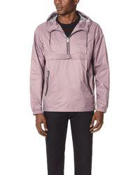 The Very Warm - Half Zip Popover Jacket - Lyst