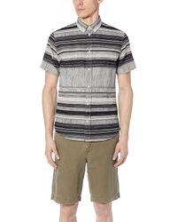Billy Reid - Short Sleeve Murphy Shirt - Lyst