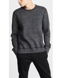 Reigning Champ - Double Knit Mesh Sweater - Lyst