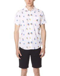 RVCA - Margo Short Sleeve Shirt - Lyst
