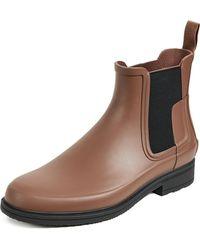 HUNTER - Original Refined Chelsea Boots - Lyst
