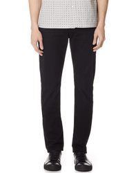 7 For All Mankind - Straight Clean Trousers - Lyst