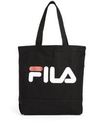 Fila - Canvas Tote Bag - Lyst