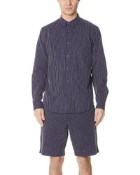 Theory - Irving Chenille Shirt - Lyst