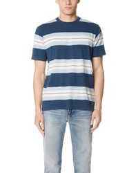 RVCA - Oxnard Stripe Shirt - Lyst