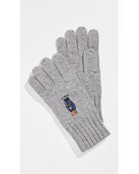 Polo Ralph Lauren - Jean Jacket Jumper Bear Gloves - Lyst