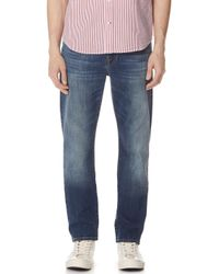7 For All Mankind - Straight Jeans - Lyst