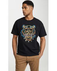 KENZO - Neon Tiger T-shirt - Lyst