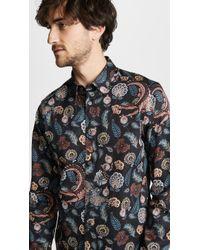 Ted Baker - Vauxhal Long Sleeve Shirt - Lyst