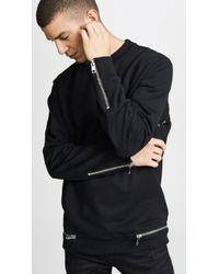 DIESEL - S-round-zip Sweatshirt - Lyst