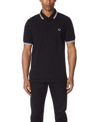 Fred Perry - Twin Tipped Shirt - Lyst