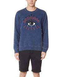 KENZO - Bleached Eye Sweatshirt - Lyst