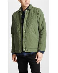 Mollusk - Quilted Barn Jacket - Lyst