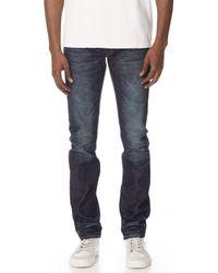 Fabric-Brand & Co. - Doran Selvedge Slim Fit Denim Jeans - Lyst