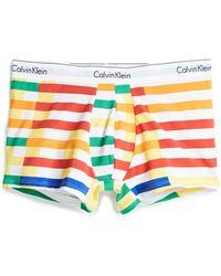 CALVIN KLEIN 205W39NYC - Modern Cotton Stretch Trunks - Lyst