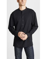 Lemaire - Jersey Shirt - Lyst