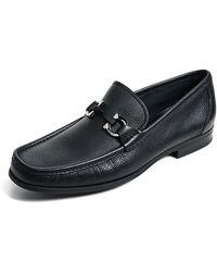 Ferragamo - Grandioso Bit Loafers - Lyst