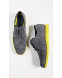 Cole Haan - Original Grand Short Wingtip Oxfords - Lyst