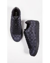 COACH - C101 Signature C Low Top Sneakers - Lyst
