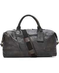 Nixon - Desperado Leather Duffel Bag - Lyst