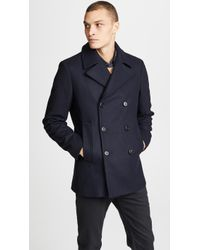Theory - Orchard Bungee Coat - Lyst