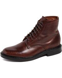 Frye - Jones Lace Up Boots - Lyst