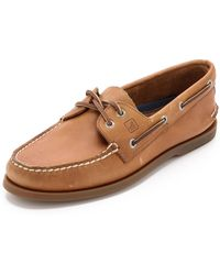 Sperry Top-Sider - A/o Classic Boat Shoes On Brown Sole - Lyst