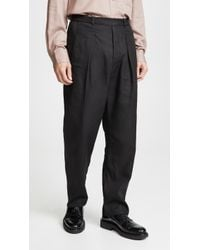 Lemaire - Elasticated Pants - Lyst