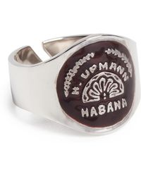 Miansai - Vinales Cigar Band Ring With Enamal - Lyst