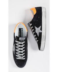 Golden Goose Deluxe Brand - Distressed Superstar Sneakers - Lyst