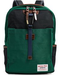Master Piece - Link Backpack Green - Lyst