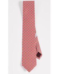 Ferragamo - Dog Pattern Tie - Lyst
