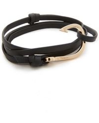 Miansai - Hook Leather Bracelet - Lyst