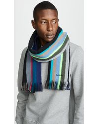 Paul Smith - Mike Stripe Scarf - Lyst